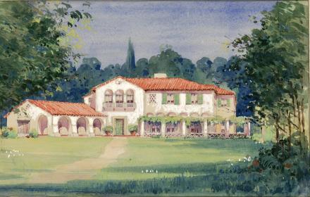 P.L. Mannen residence in San Antonio Texas - Ayres & Ayres