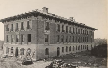 Historic photo of Sutton Hall